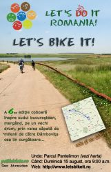 """Let's Bike It"" va invita la cartare pe biciclete!"