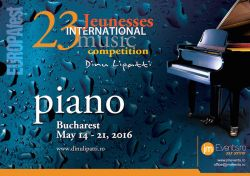 EUROPAfest 2016, primul eveniment Jeunesses International Music Competition Dinu Lipatti