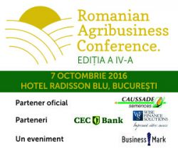 Romanian Agribusiness conference, 7 octombrie 2016